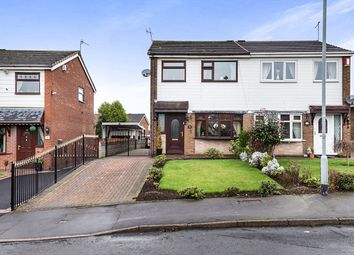 Thumbnail 3 bedroom semi-detached house for sale in Auden Place, Meir Hay, Stoke-On-Trent