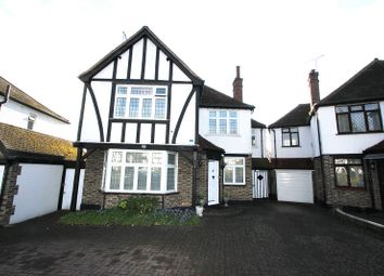 Thumbnail 4 bed detached house for sale in Oakleigh Gardens, Edgware, Greater London.
