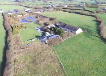 Thumbnail 4 bed equestrian property for sale in Lon Bachau, Coed Anna, Llannerch-Y-Medd, Sir Ynys Mon