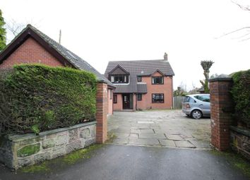 Thumbnail 4 bedroom detached house for sale in Park Lane, Knypersley, Staffordshire