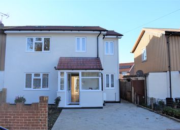 Thumbnail 4 bed semi-detached house for sale in Conway Drive, Hayes