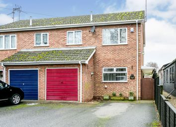 Thumbnail 3 bed semi-detached house for sale in Harecroft Road, Wisbech