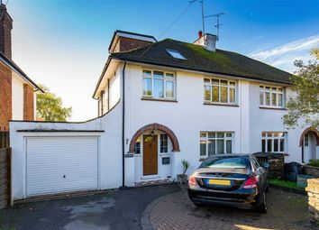 Thumbnail 4 bed semi-detached house for sale in Great North Road, Bell Bar, Hertfordshire