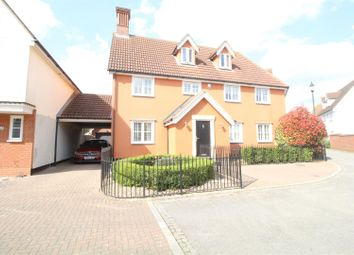Thumbnail 5 bedroom detached house for sale in Armourers Close, Bishop's Stortford