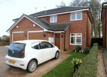 Thumbnail 3 bed semi-detached house for sale in Main Street, Red Row, Morpeth