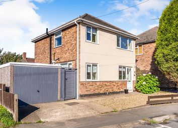 Thumbnail 3 bed detached house for sale in Breach Road, Coalville