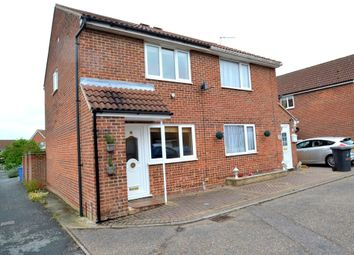 Thumbnail 2 bedroom semi-detached house for sale in Brices Way, Glemsford, Sudbury