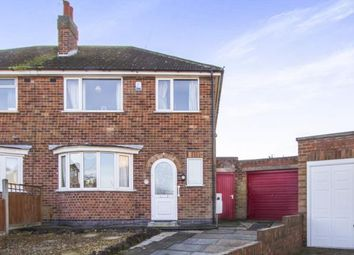 Thumbnail 3 bed semi-detached house for sale in Homemead Avenue, Leicester, Leicestershire