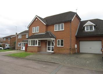 Thumbnail 4 bed detached house to rent in Meadowbank, Hitchin
