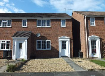 Thumbnail 3 bed end terrace house to rent in Brookmead, Trowbridge, Wiltshire