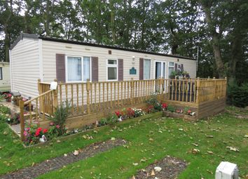 Thumbnail 3 bedroom mobile/park home for sale in Woodlands Caravan Park, Trimingham, Norwich