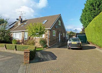 Thumbnail 3 bed semi-detached bungalow for sale in Barleycroft, Horsham, West Sussex