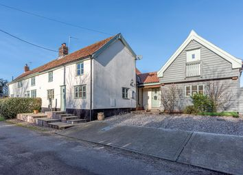 Thumbnail 3 bed cottage for sale in Fen Street, Hopton, Diss