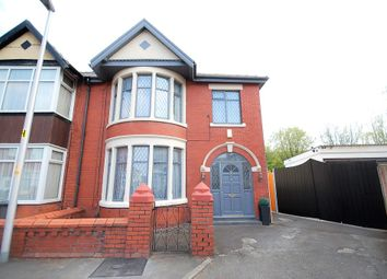 Thumbnail 3 bed semi-detached house for sale in Oak Avenue, Blackpool