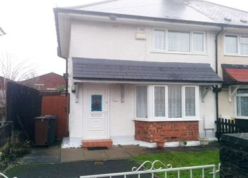 Thumbnail 2 bedroom semi-detached house to rent in Wharf Street, Wolverhampton