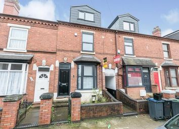 Thumbnail 6 bed terraced house for sale in Tiverton Road, Birmingham, West Midlands
