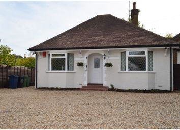 Thumbnail 3 bed detached bungalow for sale in Hill Rise, Chalfont St. Peter, Gerrards Cross