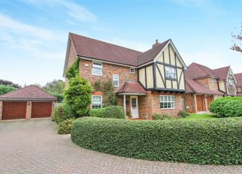 Thumbnail 4 bed detached house for sale in St. Georges Close, Brampton, Huntingdon