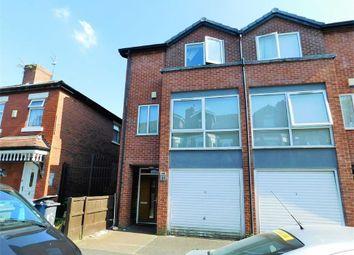 Thumbnail 3 bedroom town house for sale in Mentor Street, Longsight, Manchester