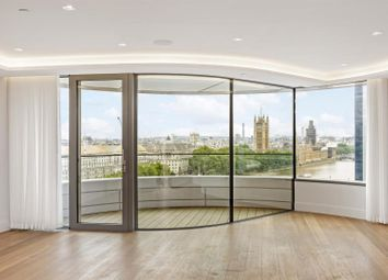 Thumbnail 3 bedroom flat to rent in The Corniche, Tower Two, 23 Albert Embankment, London