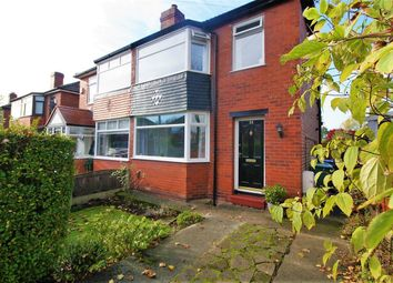 Thumbnail 3 bed semi-detached house for sale in Maple Avenue, Whitefield, Manchester