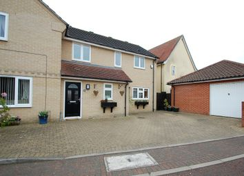 Thumbnail 3 bed semi-detached house for sale in Wadley Close, Tiptree, Colchester
