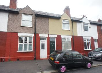 Thumbnail 3 bed terraced house to rent in Rock Road, Latchford, Warrington