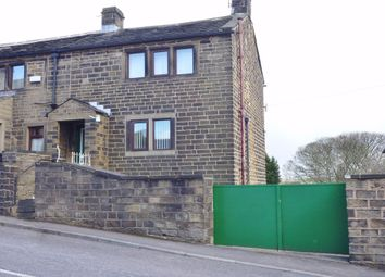 Thumbnail 2 bed end terrace house to rent in Far Bank, Shelley, Huddersfield, West Yorkshire
