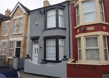 Thumbnail 3 bedroom terraced house to rent in Cambridge Road, Bootle