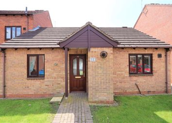 Thumbnail 2 bed semi-detached bungalow for sale in Western Close, Ashby-De-La-Zouch