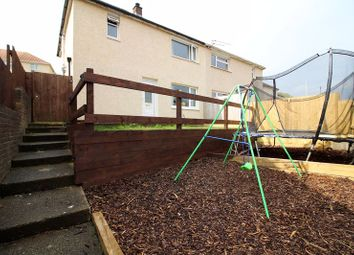 Thumbnail 3 bed semi-detached house for sale in Grovers Close, Glyncoch, Pontypridd
