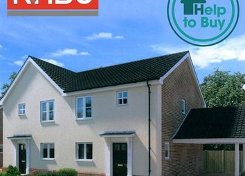 Thumbnail 2 bed property for sale in Plot 30, Springfield, Acle