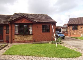 Thumbnail 2 bedroom semi-detached bungalow for sale in Hadleigh Green, Burringham, Scunthorpe