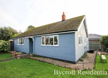 Thumbnail 2 bed detached bungalow for sale in Coronation Avenue, Martham, Great Yarmouth
