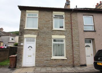 Thumbnail 2 bed end terrace house for sale in Llanover Street, Abercarn, Newport