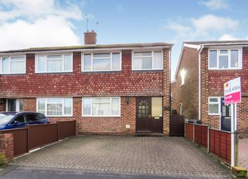 3 bed semi-detached house for sale in Laburnum Grove, Eastleigh SO50