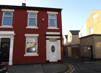 Thumbnail 2 bed end terrace house to rent in Richmond Road, Blackpool