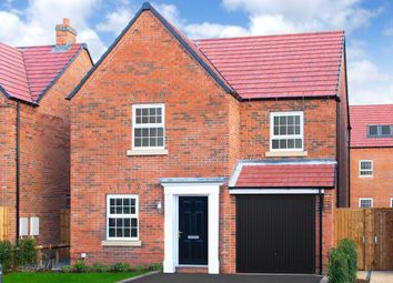 "Thumbnail 3 bed detached house for sale in ""Abbeydale"" at Kilby Road, Fleckney, Leicester"