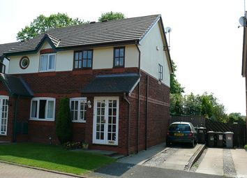 Thumbnail 2 bed semi-detached house to rent in Minster Court, Wistaston, Crewe, Cheshire