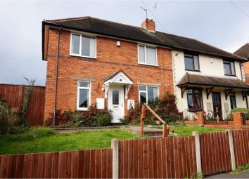 Thumbnail 2 bed semi-detached house for sale in Wood Road, Dudley