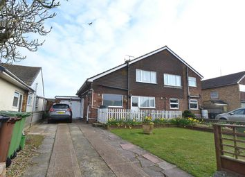 Thumbnail 2 bed semi-detached house for sale in Langney Green, Eastbourne