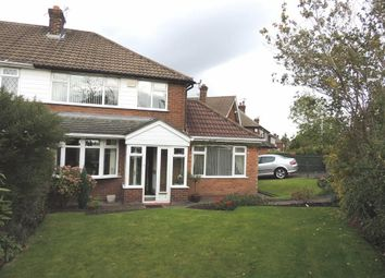 Thumbnail 3 bedroom semi-detached house for sale in Needwood Road, Woodley, Stockport