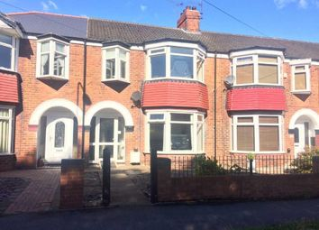 Thumbnail 4 bed terraced house for sale in Kenilworth Avenue, Cottingham Road, Hull