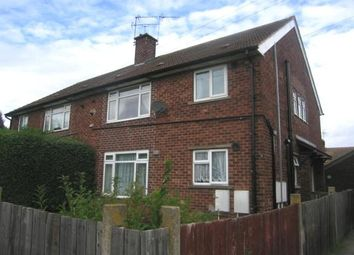 Thumbnail 2 bed flat to rent in Station Road, Whitwell, Worksop
