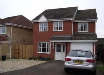 Thumbnail 4 bed property to rent in Speedwell Way, Norwich
