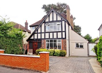 Thumbnail 5 bed detached house for sale in Conaways Close, Ewell
