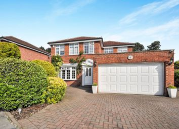 Thumbnail 4 bed detached house for sale in Radnor Close, Chislehurst