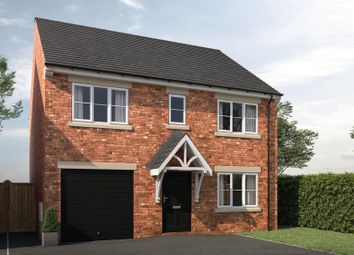 Thumbnail 4 bed detached house for sale in Plot 8, The Willow, Westfield Gardens, Horbury