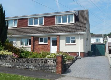 Thumbnail 3 bed semi-detached bungalow for sale in Orpheus Road, Ynysforgan, Swansea