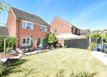 Thumbnail 4 bed detached house for sale in Lackmore Gardens, Woodcote, Reading